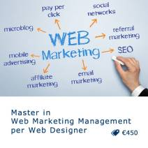 Master in Web Marketing Management per Web Designer