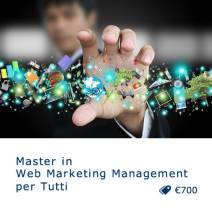 Master in Web Marketing Management per Tutti