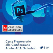 orso preparatorio certificazione Adobe aca Photoshop