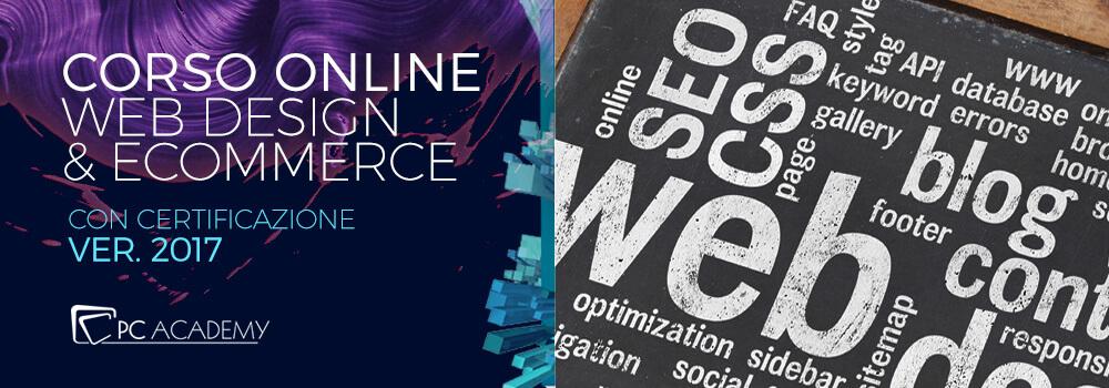 Corsi Web Design