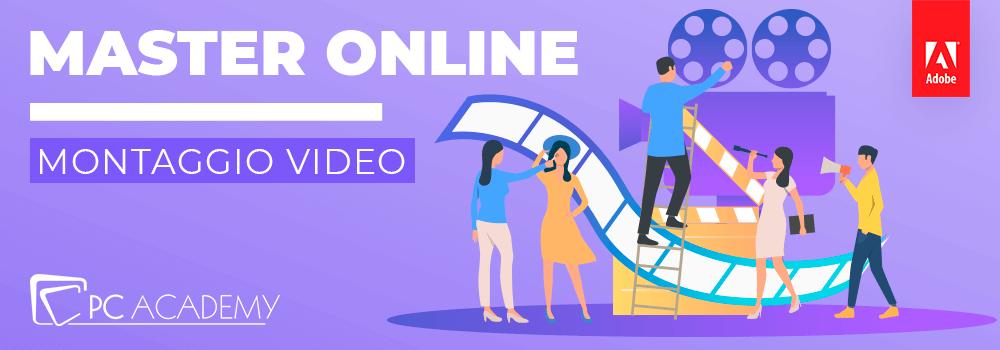 master montaggio video online
