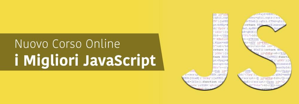 Corso Online i Migliori JavaScript